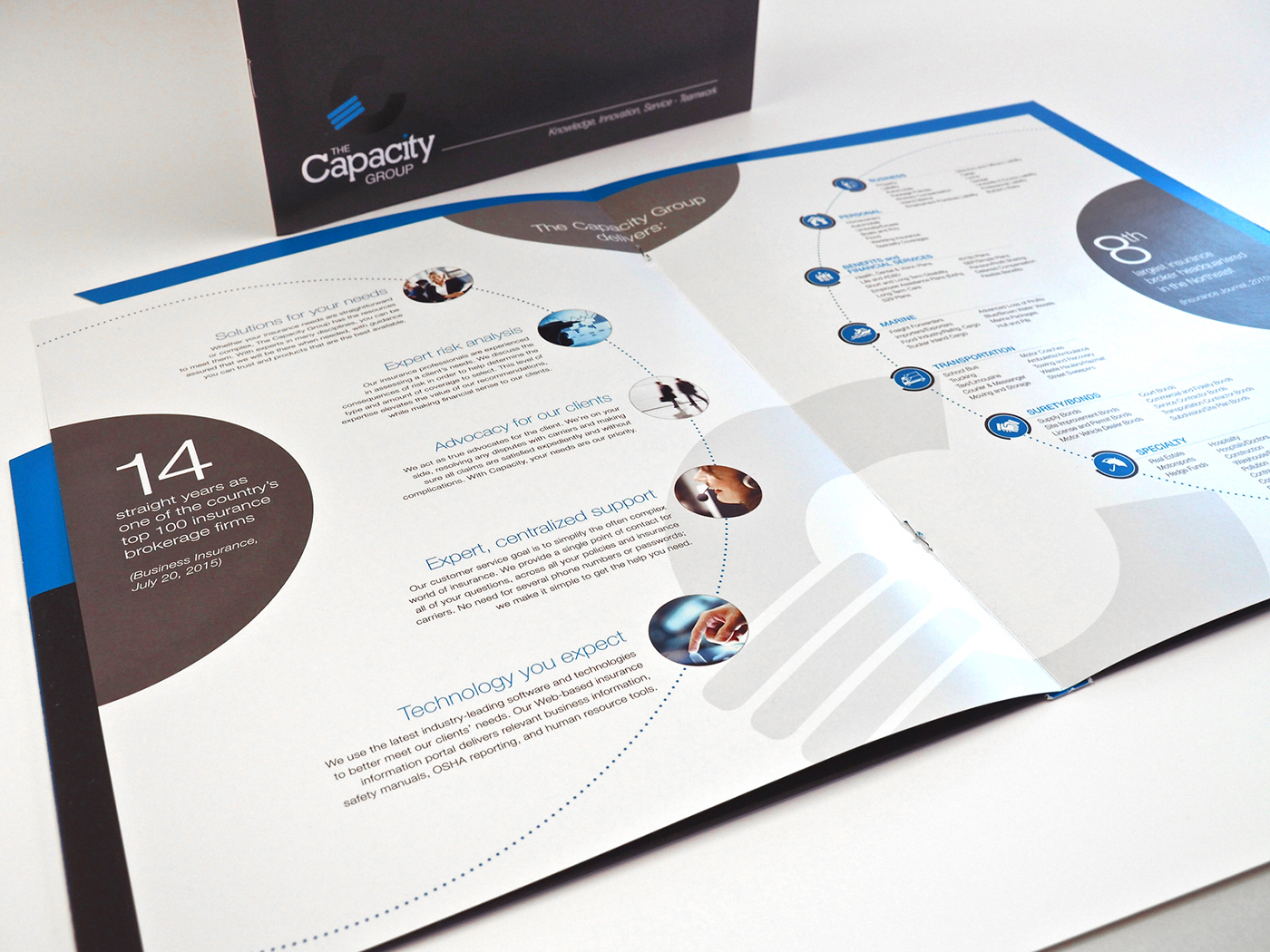 Professional brochure, branding, and marketing design