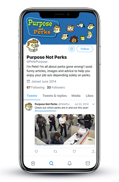 Twitter design page for PnP