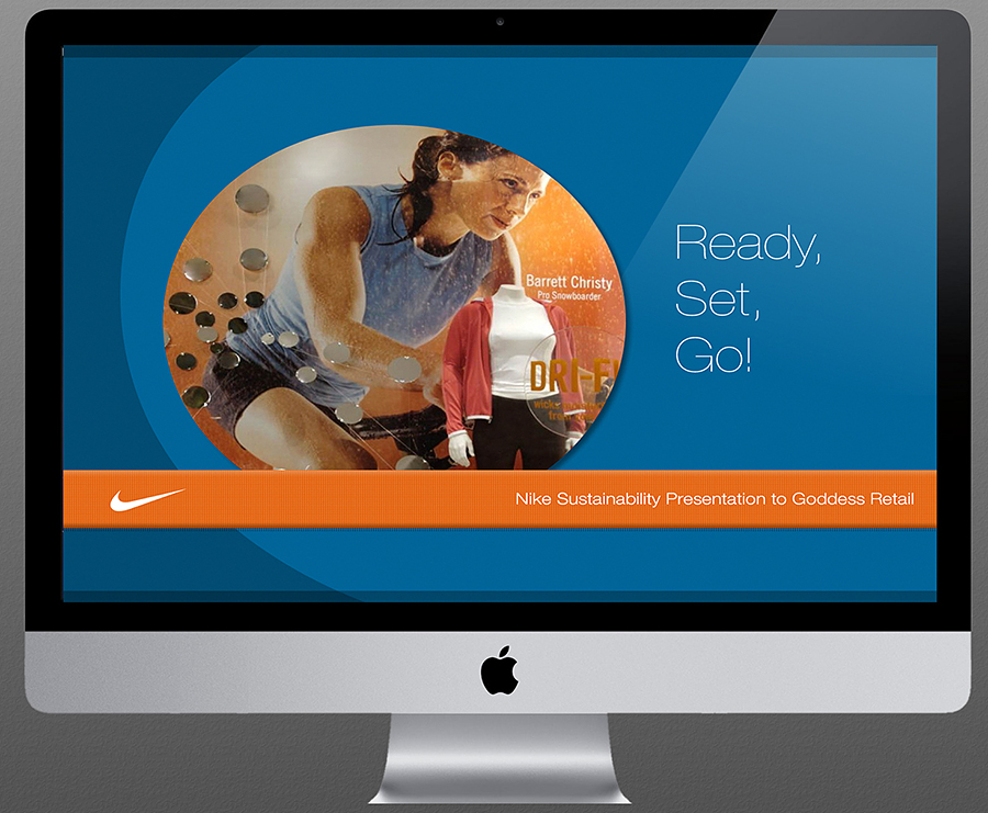 Nike retail presentation design